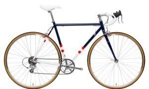 state bicycle co  road  speed blue white red